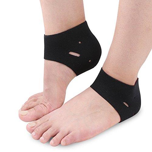 防寒靴下 かかとケア ソックス かかとサポーター 角質ケア 保湿 保温 発熱ソックスかかと痛み緩和