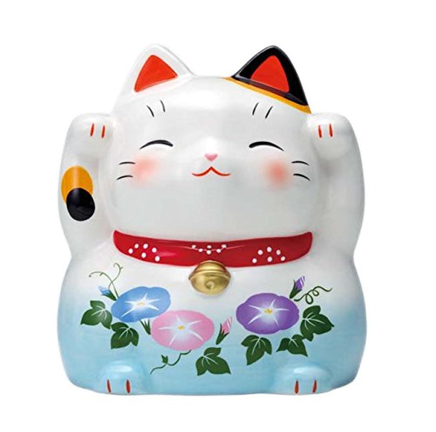 招き猫蚊遣器(朝顔) 4424
