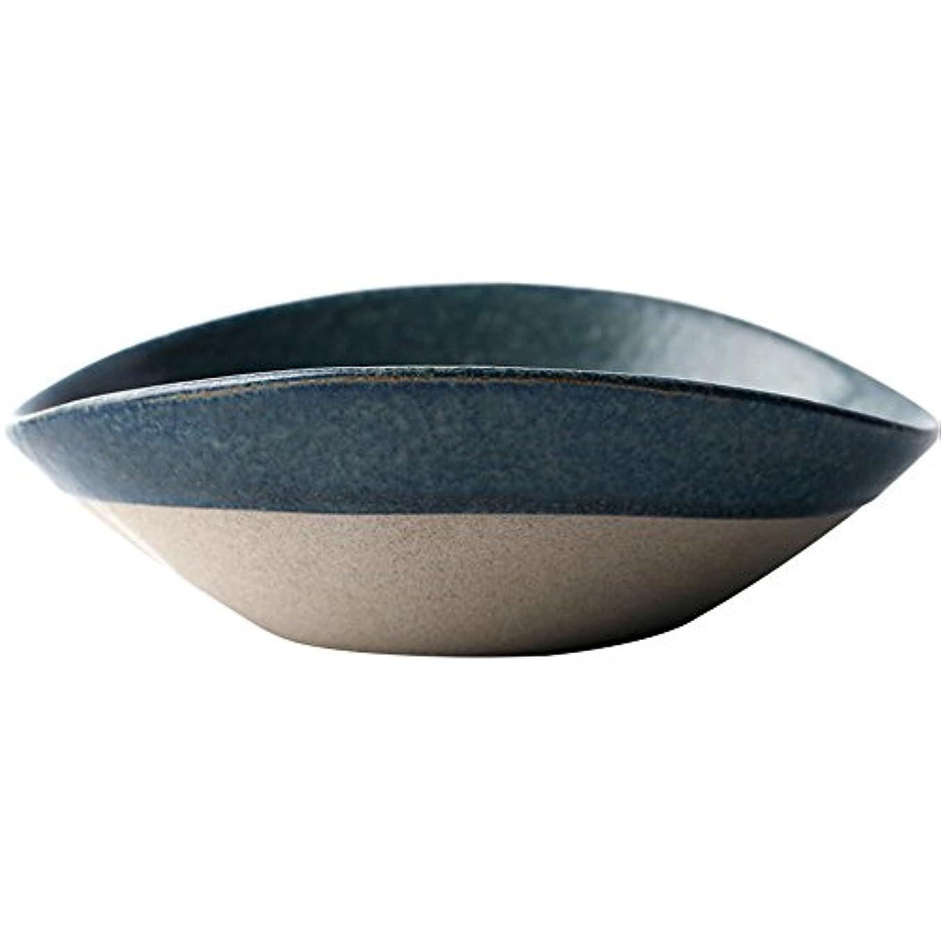 スポーツの試合を担当している人受取人卵家庭用和風不規則な陶器のボウル/サラダボウル/レトロな浅い口のボウル/スープのボウル/料理550ミリリットル