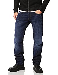 G-Star RAW (ジースターロゥ) Attacc ストレート ジーンズ スワッシュ デニム メンズ 51008-6591