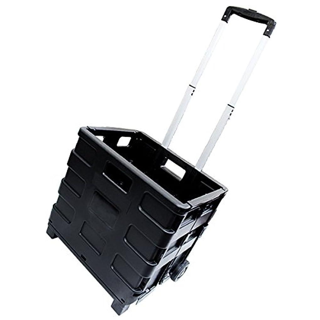 爪流行簡略化するMERMONT 折りたたみ キャリーカート ショッピングカート 耐荷重25kg キャスター付き