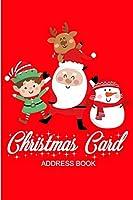 Christmas Card Address Book: Christmas card address book. An address book and tracker for the Christmas cards you send and receive - Christmas tree cover (christmas tracker)