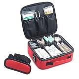 応急処置キット,プロフェッショナル 防水 プレミアム ナイロン 救急バッグ セパレーター付け 画像