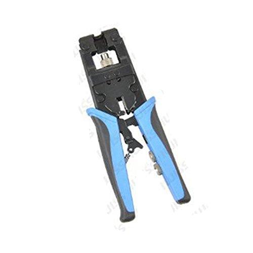 (アイウィス) IWISS 同軸ケーブル 圧縮工具 圧着ペンチF BNC RCA用