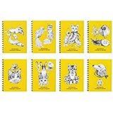 ホルベイン ヒグチユウコ ミニミニクロッキーメモ イエロー (8種×1冊セット) YHMC-Y 270781