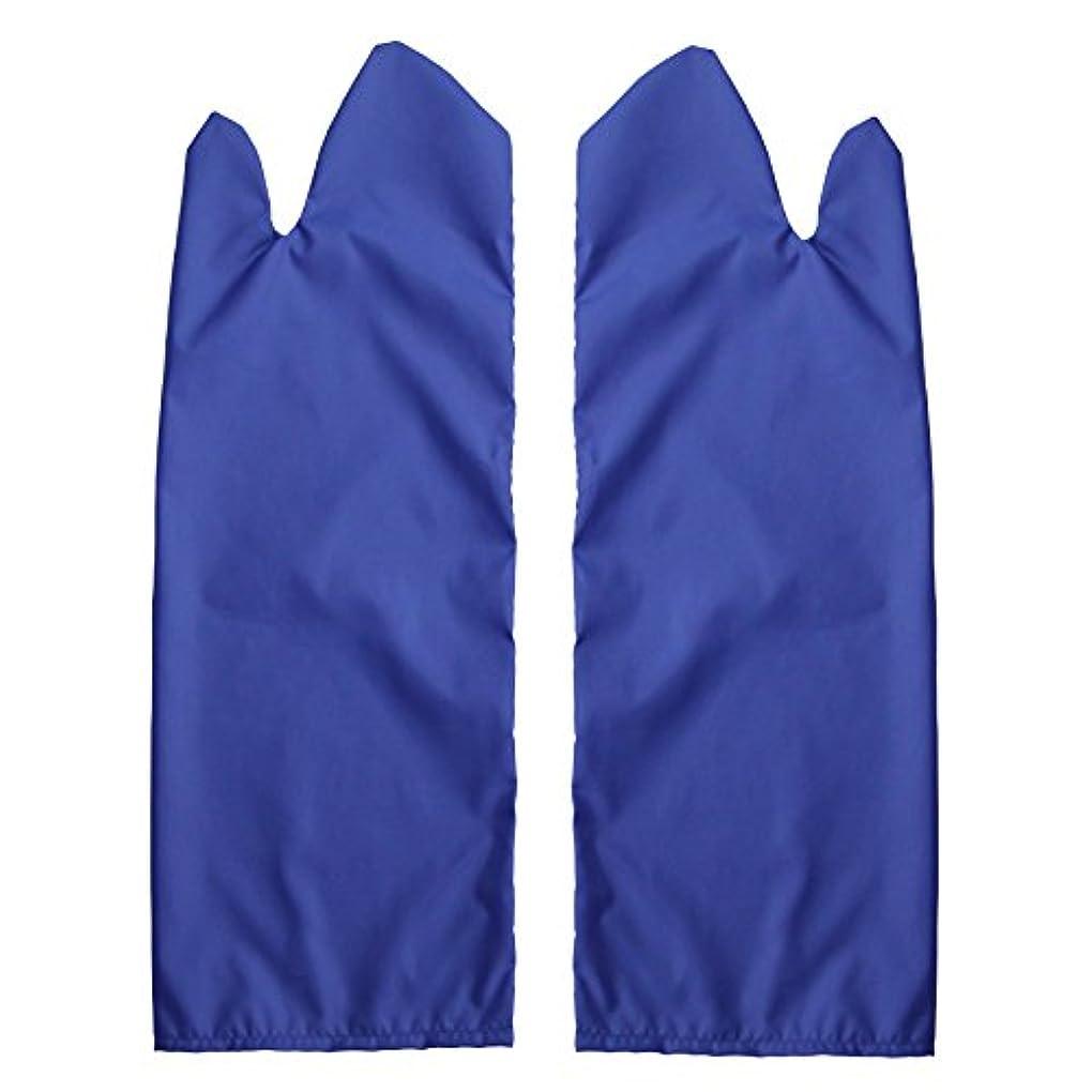 トレイル運賃扱いやすい体位変換用スライディンググローブ 撥水(ブルー) L /7-3681-04