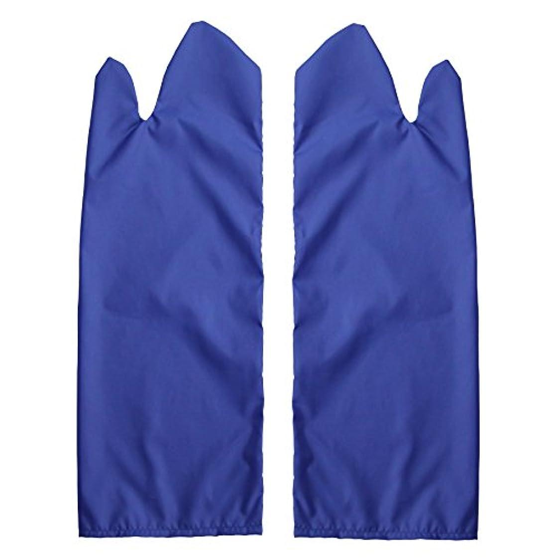 器官固有のシンポジウム体位変換用スライディンググローブ 撥水(ブルー) L /7-3681-04