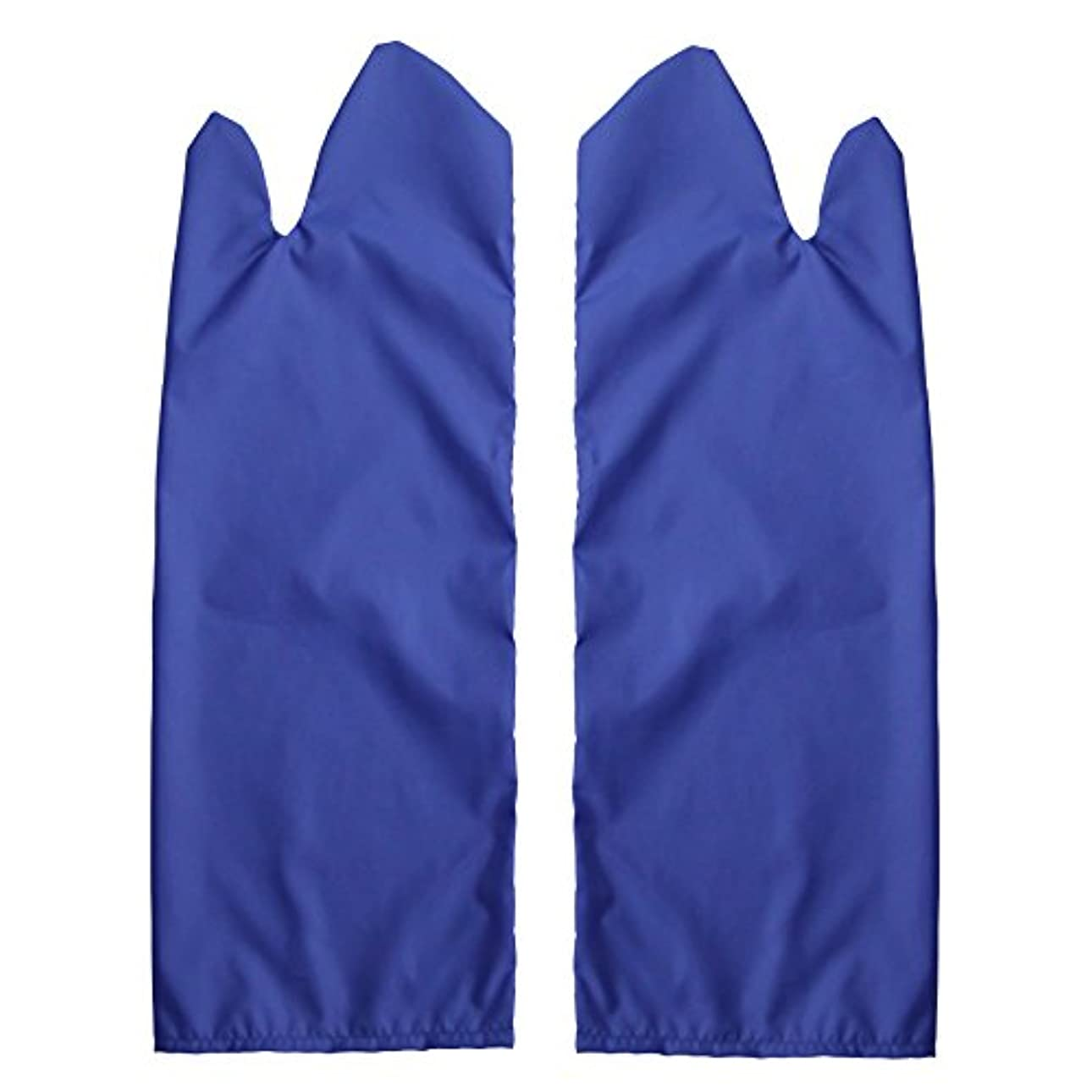メトリック繰り返し応用体位変換用スライディンググローブ 撥水(ブルー) L /7-3681-04