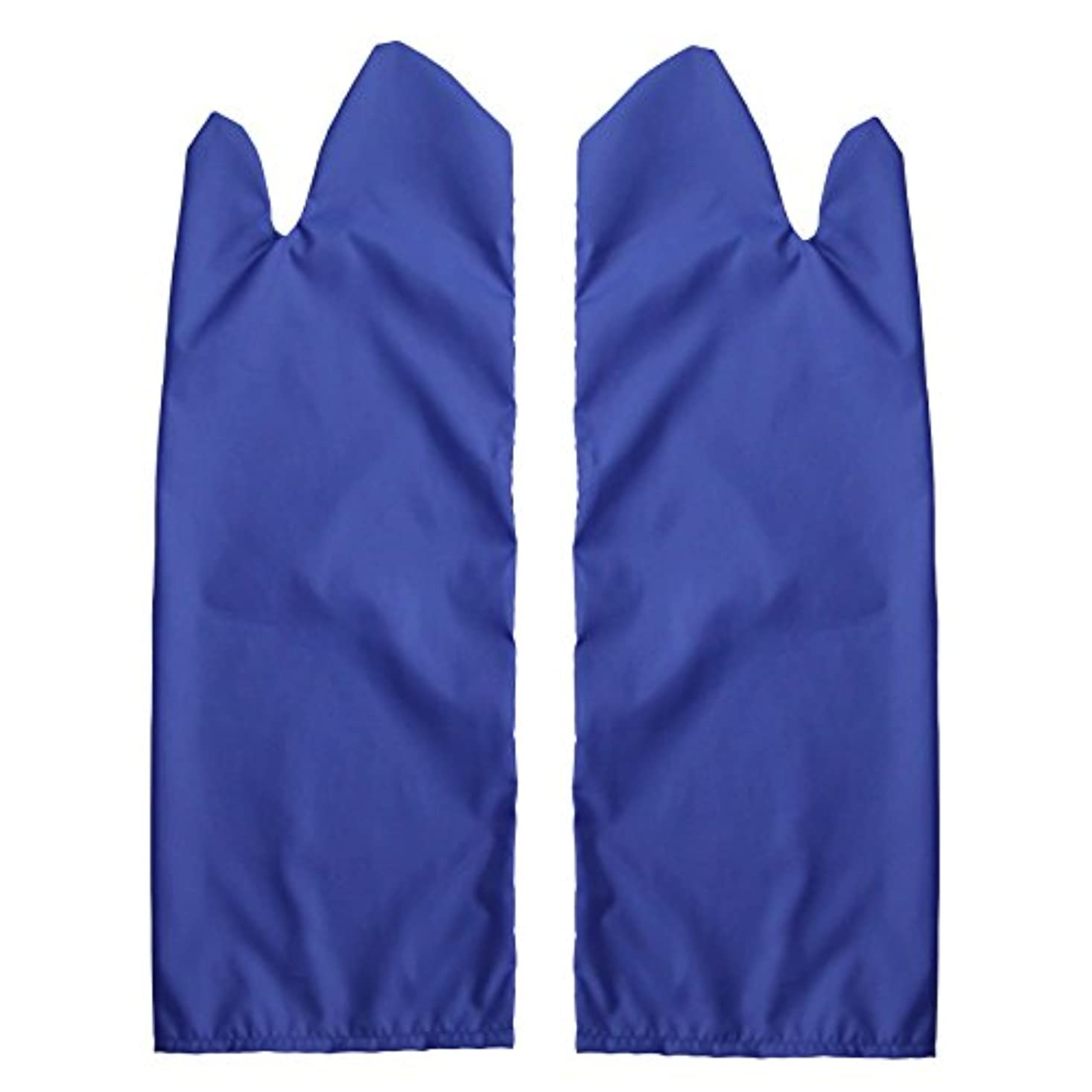 症候群ポゴスティックジャンプ無人体位変換用スライディンググローブ 撥水(ブルー) S /7-3681-02