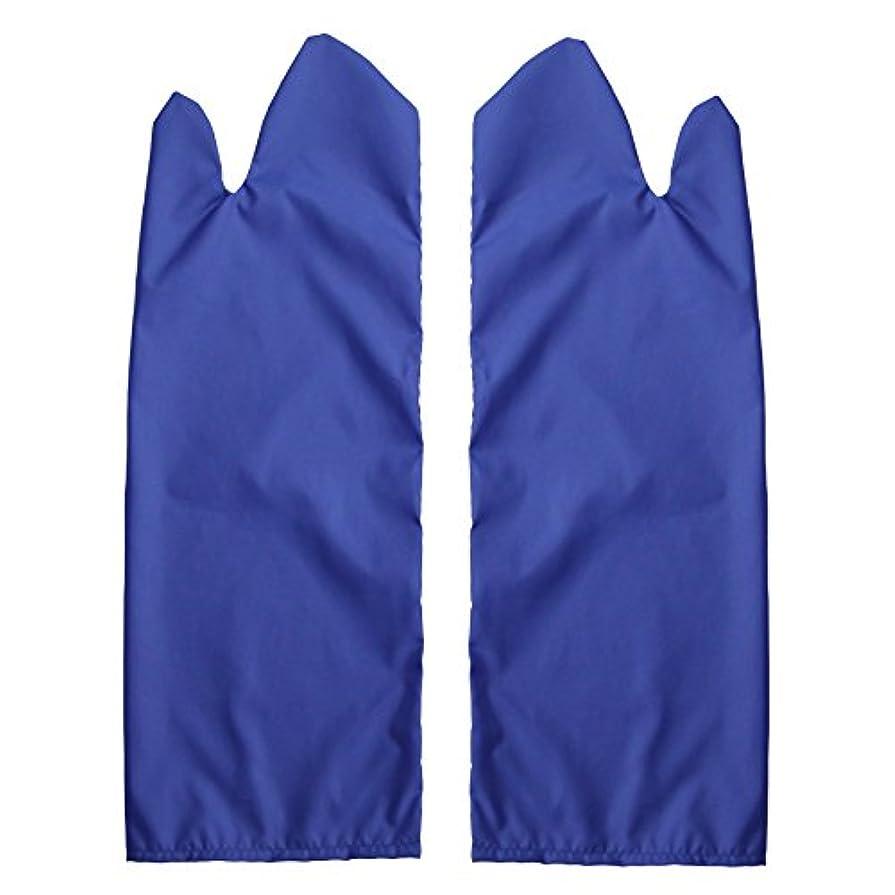 メディック役割十分ではない体位変換用スライディンググローブ 撥水(ブルー) L /7-3681-04