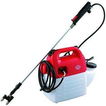 セフティー3 電気式噴霧器 5L 100Vコード ホース10m ノズル70~160㎝ 1頭2頭切替 SSA-5