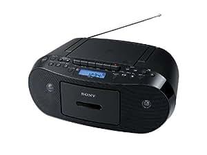 SONY CDラジオカセットコーダー ブラック CFD-S50/B