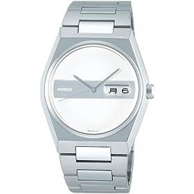 WIRED(ワイアード) 腕時計 by Tomoki Sukezane 丸型 3針 カレンダー モデル AGAT006 メンズ