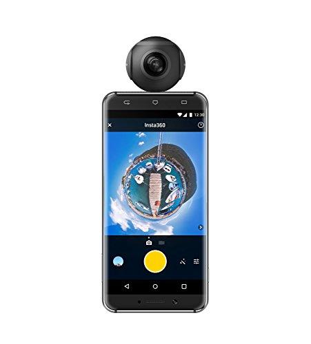 Insta360 Air USB Type-C対応:Android用 全天球カメラ 【日本正規代理店 ハコスコ販売】 (国内発送・1年保証)