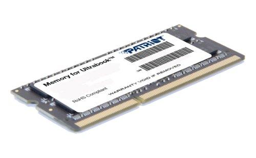 ノート用メモリ 低電圧1.35V (1.5V両対応) 「片面4枚実装」 DDR3L-1600 4GB 204pin SO-DIMM 永久保証 PSD34G1600L81S