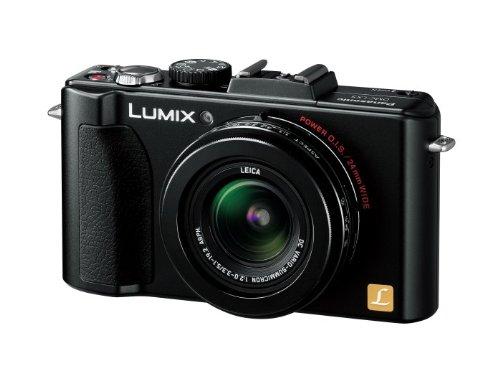 パナソニック デジタルカメラ ルミックス ブラック DMC-LX5-K 1010万画素 光学3.8倍ズーム 広角24mm 3.0型液晶 F2.0バリオ・ズミクロンレンズ