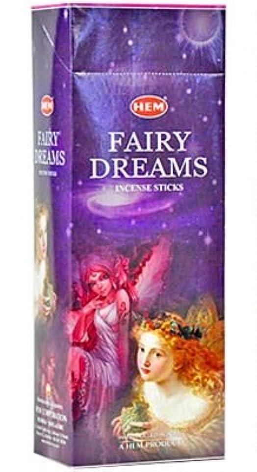 欲しいです報酬の振る舞うHEM(ヘム)社 フェアリードリームス香 スティック FAIRY DREANS 6箱セット