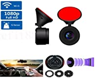 FidgetGear 1080P WIFI HD Car Vehicle Hidden DVR Camera Video Recorder Dash Cam Night Vision