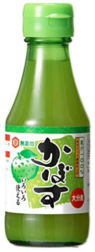 宮島醤油 無添加 かぼす果汁 150ml×2本