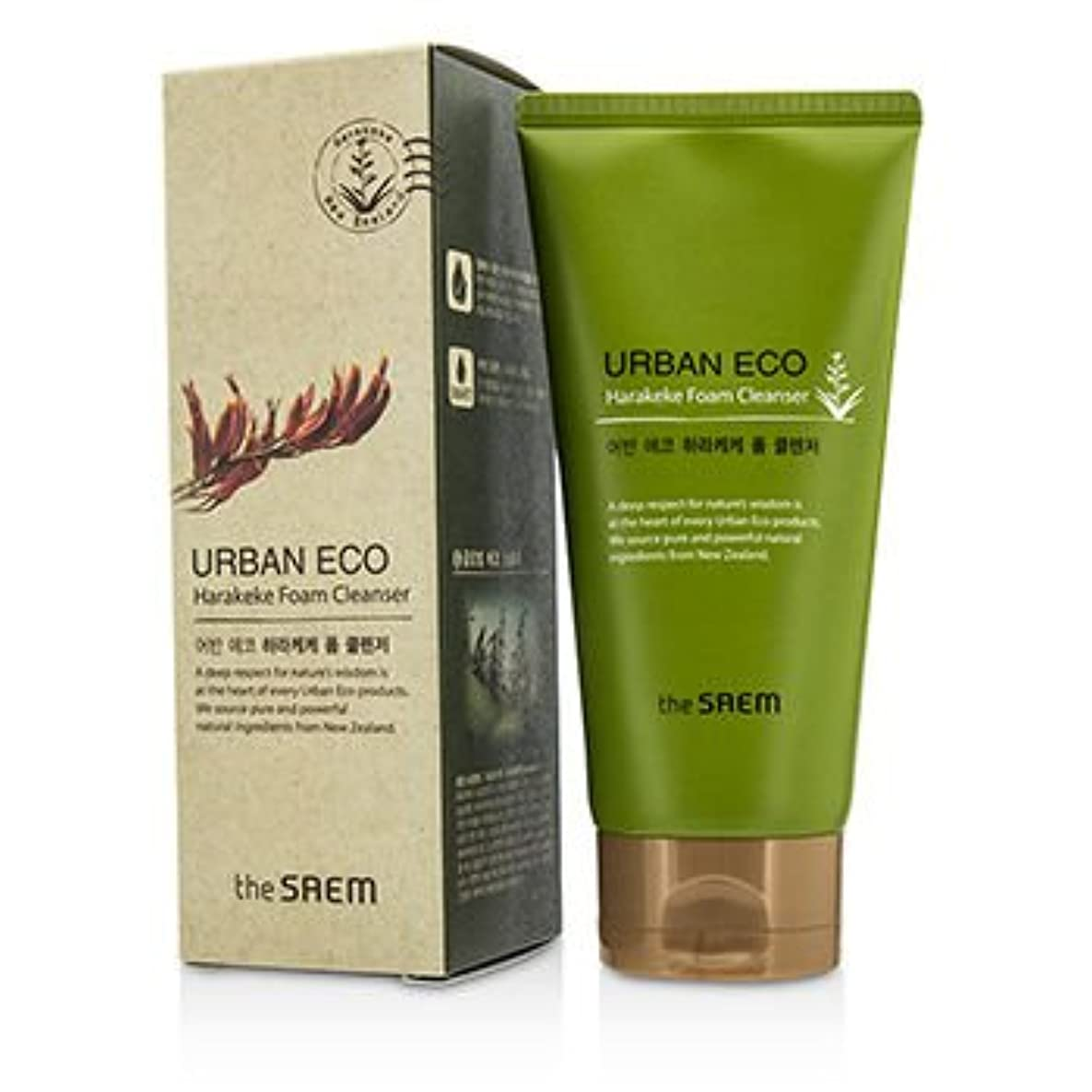 悲しみ作動する潜在的な[The Saem] Urban ECO Harakeke Foam Cleanser 150g/5.29oz