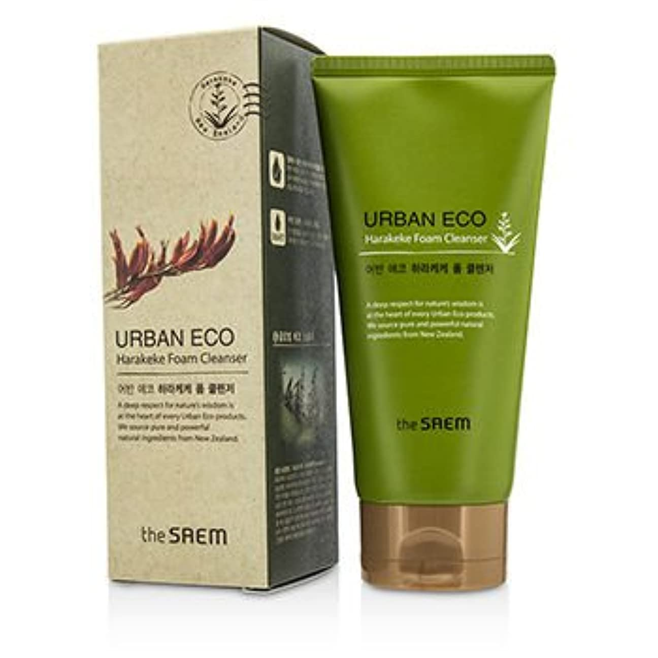 付ける遅らせる抑圧[The Saem] Urban ECO Harakeke Foam Cleanser 150g/5.29oz