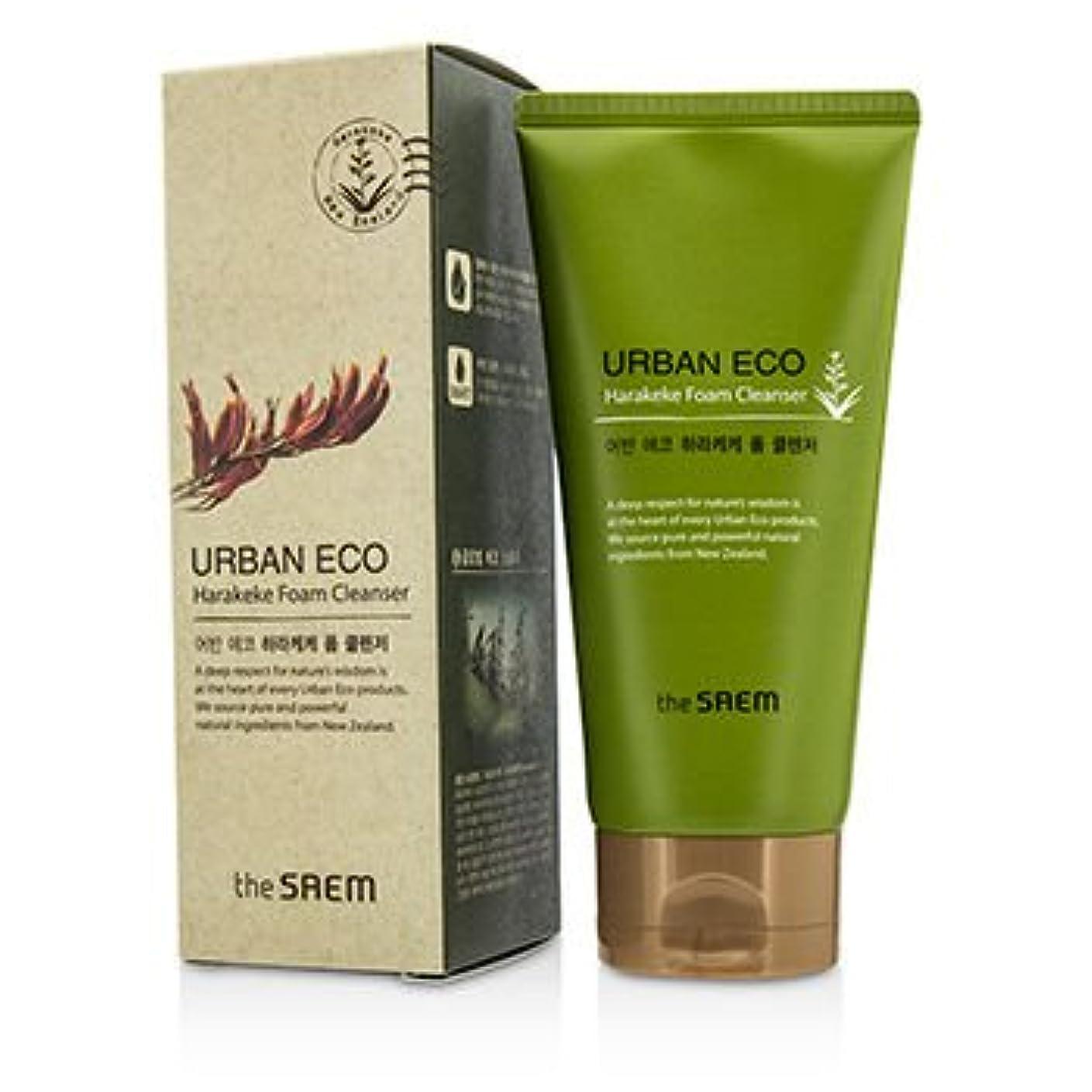 手アプライアンスアジア[The Saem] Urban ECO Harakeke Foam Cleanser 150g/5.29oz