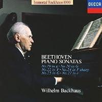 Beethoven: Piano Sonatas 19 & 20 by Wilhelm Bachhaus
