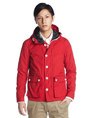 Marine Parka 11-18-1891-803: Red