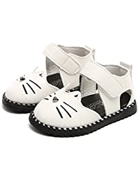 Smile赤ちゃん ベビー靴 女の子 男の子 サンダル やわらかい プリンセス マジックテープ 歩行練習 履き心地いい靴 柔らかい幼児靴 可愛い花柄