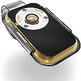 iミクロン スマホ用顕微鏡 倍率400倍 クリップで簡単取り付け iPhone/iPad/スマートフォン (ゴールド×クリア)