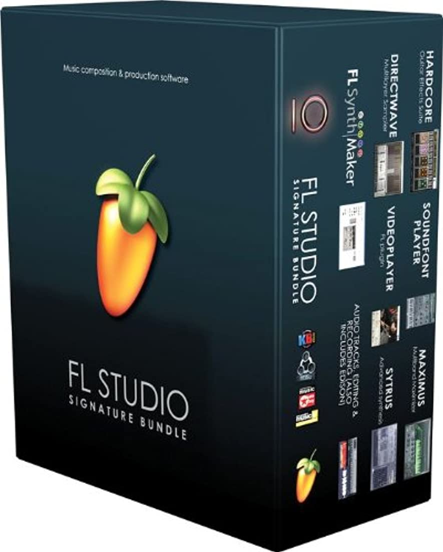 湿度闘争リングレット◆Image Line FL STUDIO 10 SIGNATURE BUNDLE ◆アカデミック版( Education版『並行輸入品』)