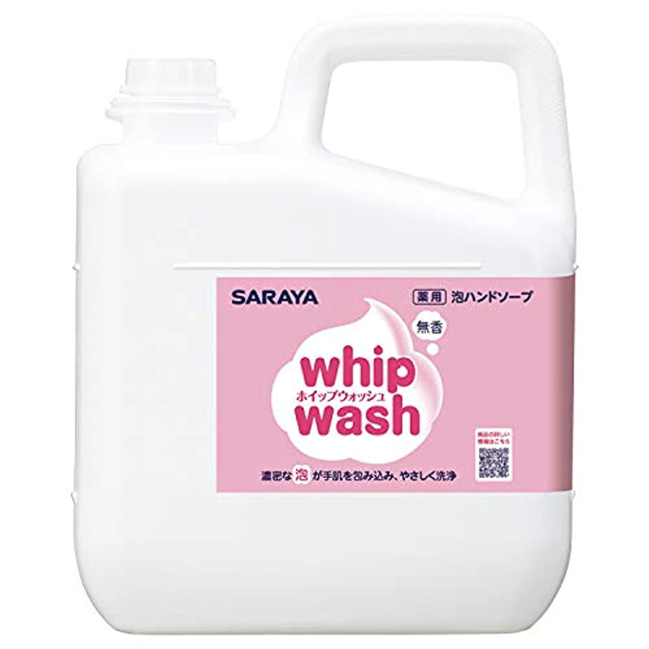 メロンスキャンダラス意見サラヤ 手洗い用石けん液 ホイップウォッシュ無香 5kg 23453