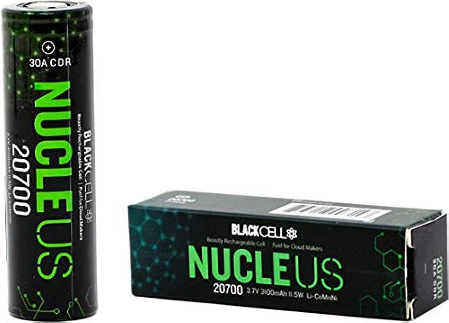 方法論スリラーマザーランド【安心のPSE適合製品】BLACKCELL NUCLEUS 20700(フラットトップ) 3100mAh 30A