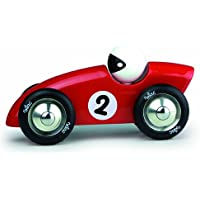 Vilac Competition Car Push and Pull Baby Toy, Red, Large by Vilac