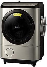 日立 ドラム式洗濯乾燥機 ビッグドラム 洗濯12kg/洗濯~乾燥6kg 左開き [洗剤・柔軟剤 自動再注文]機能搭載 BD-NX120EL N ステンレスシャンパン