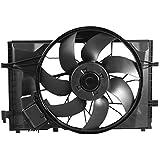 TOPAZ Radiator Cooling Fan 600W for Mercedes W203 S203 CL203 A209 C209 A2035000293