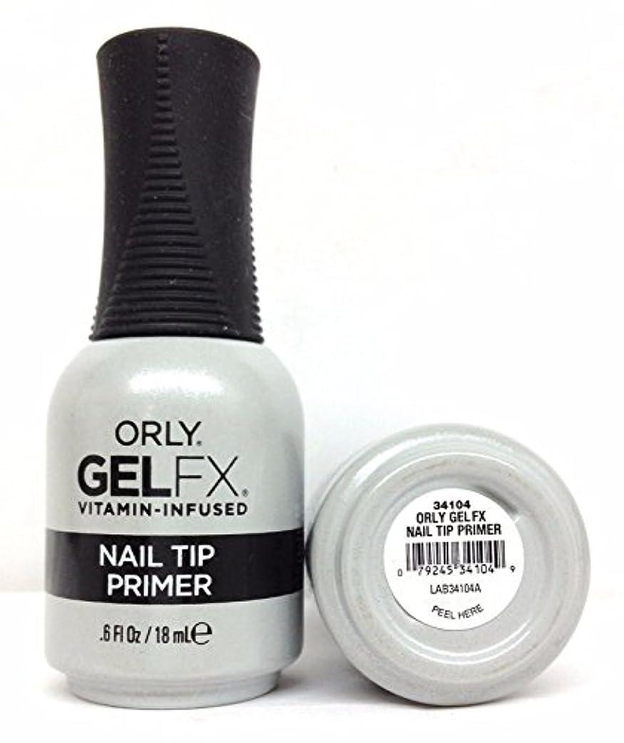 火山の到着日の出Orly Gel FX - Nail Tip Primer - 0.6 oz / 18 mL