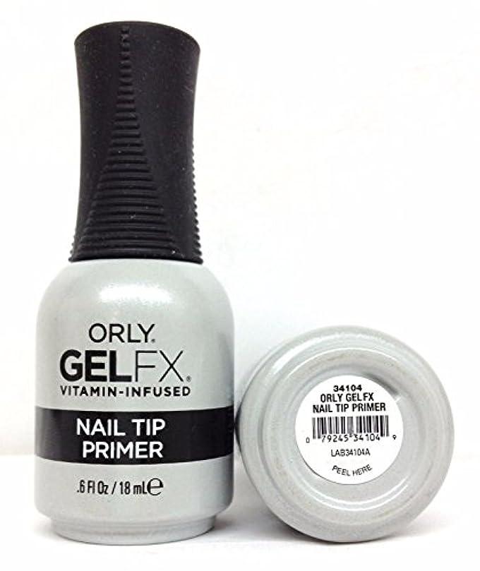 ダースタンザニア見つけるOrly Gel FX - Nail Tip Primer - 0.6 oz / 18 mL