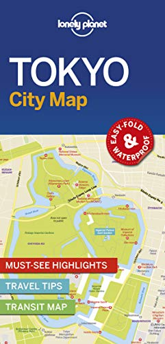 Download Lonely Planet TokyoCity Map (Lonely Planet City Maps) 1786577836