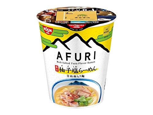 日清 THE NOODLE TOKYO AFURI 限定柚子塩らーめん 93g×6個
