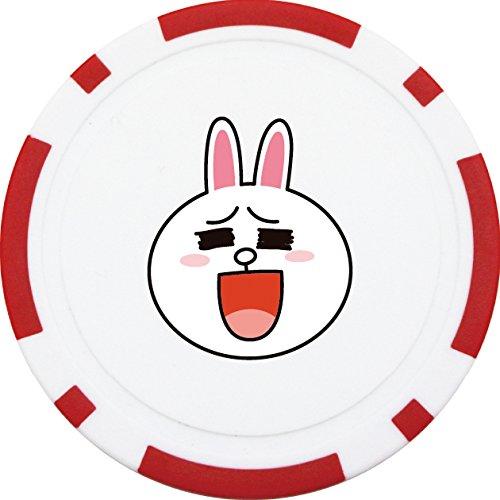 ライト(LITE) LINE ゴルフチップマーカー X-819 コニ― (710)