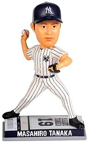 2014年 フォーエバー社 MLB ボブルヘッド チケットベース/田中 将大(マーくん)/ニューヨーク・ヤンキース