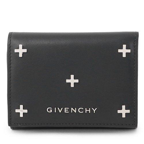 GIVENCHY ジバンシィ BC06221683 001 PANDORA 3FOLD SLG レザー 三つ折り財布 ミニ財布 豆財布 カラーBLACK BLACK/ブラック [並行輸入品]