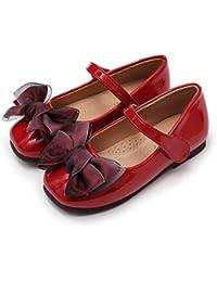 女の子 フォーマルシューズ キッズ 軽量 子供靴 発表会 入卒業式 結婚式 リボン付き 春夏 ガールズ パンプス 履きやすい 通気性 滑り止め 16.0-21.5cm