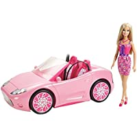 Barbie Glam Convertible and Doll Set - New 2012 Version [並行輸入品]