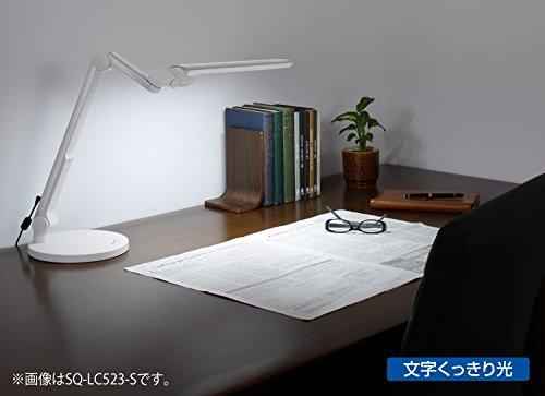 パナソニック LEDデスクスタンド 置き型 ブラック SQ-LD523-K