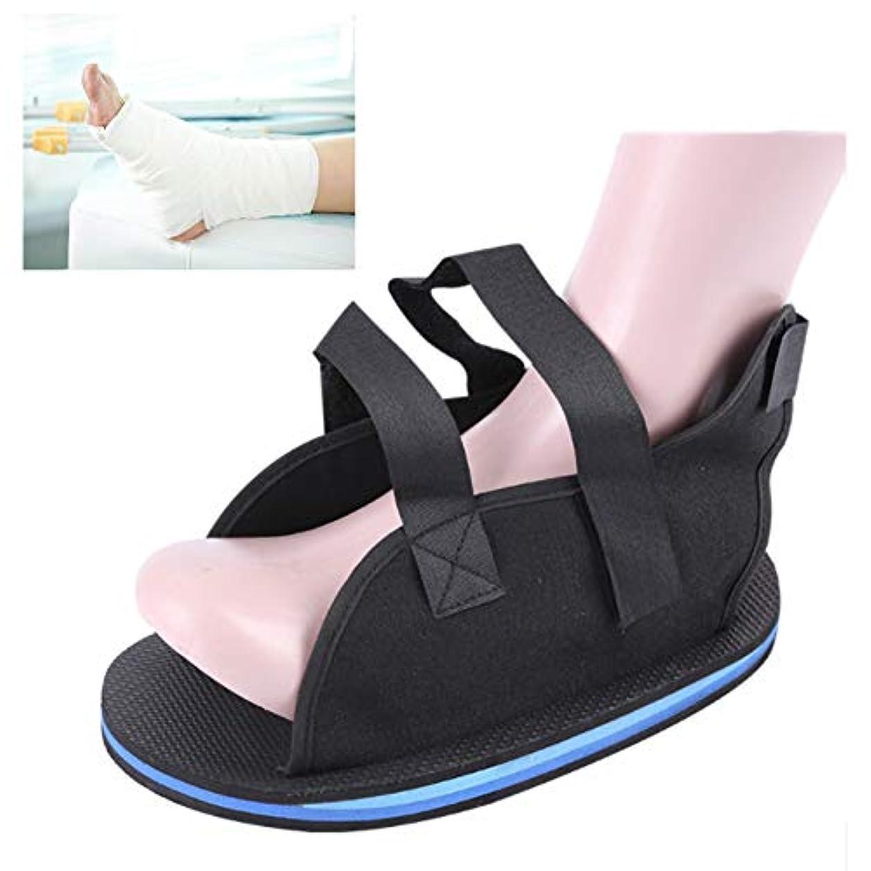 ヒロイン面積正義術後ウォーキングブートキャスト医療靴骨折足の靴ポスト傷害外科治療リハビリ石膏靴,22cm2pcs