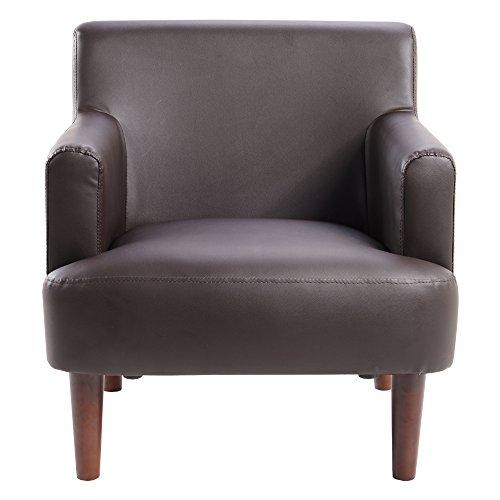 UNE BONNE(ウネボネ) 1人用ソファ おひとり様チェア デザイナーフロアチェア クッションが1個おまけ ダークブラウン