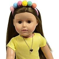 18インチ人形ヘッドバンド – Pom Pom Headband for人形 – 人形ヘアアクセサリー