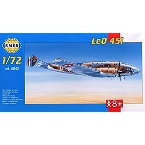 セマー 1/72 SESME72843 仏・リオレ・エ・オリビエ LeO 451 爆撃機 WW-Ⅱ